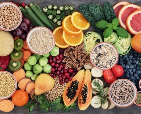 Während der Schwangerschaft sollten Sie besonders auf Ihre Ernährung achten.