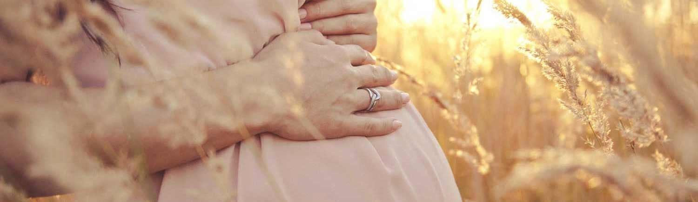 Bauch einer Schwangeren